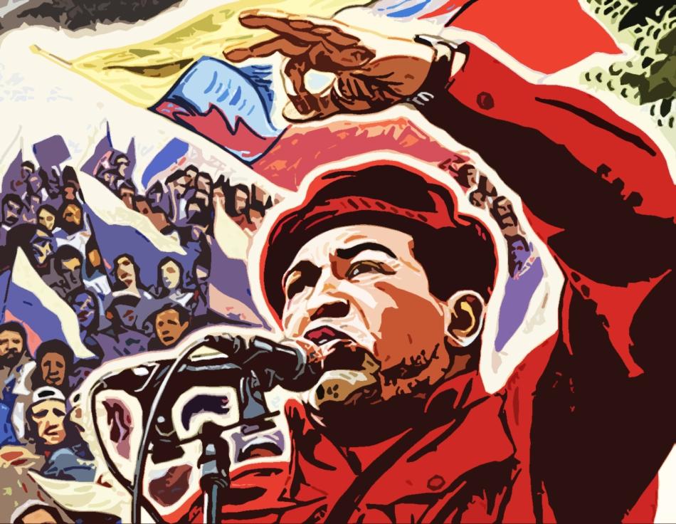 a un año de la siembra del comandante eterno Hugo Chavez Fria, libertador del siglo XXI